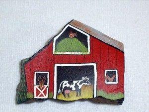 Red Animal Barn