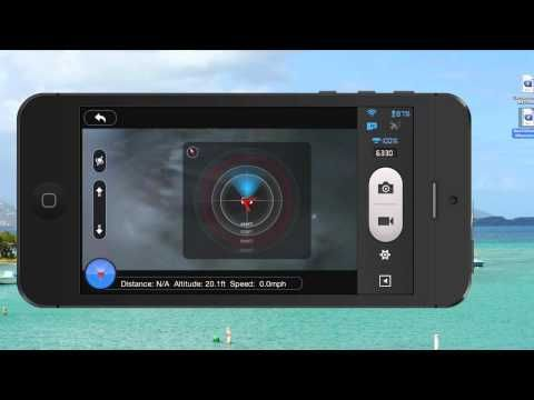 DJI Phantom 2 Vision Plus Radar Tutorial - YouTube