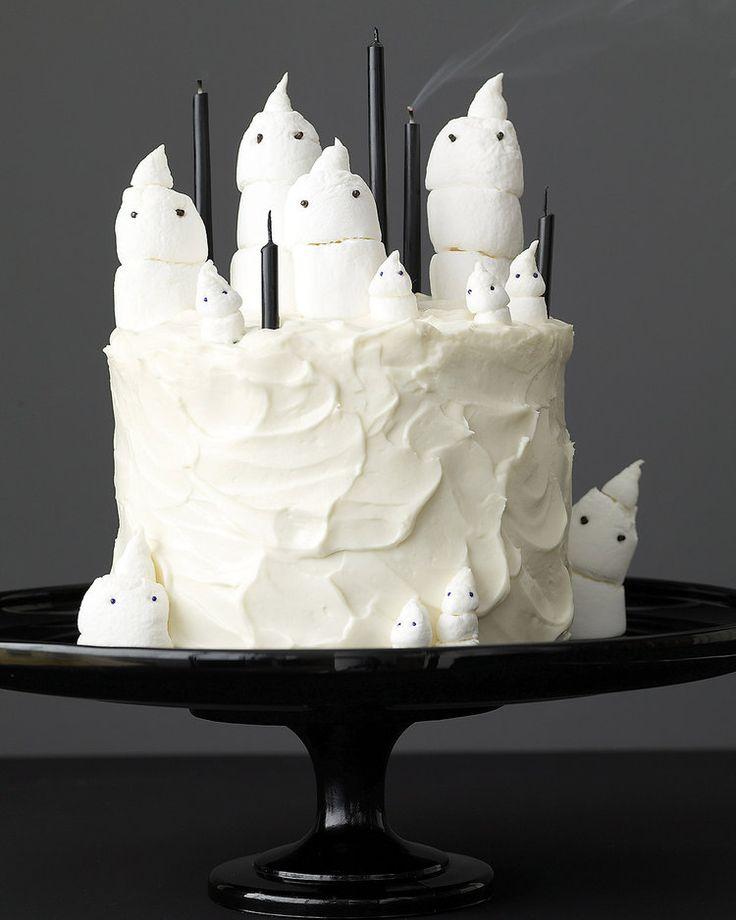 Marshmallow Ghost Cake