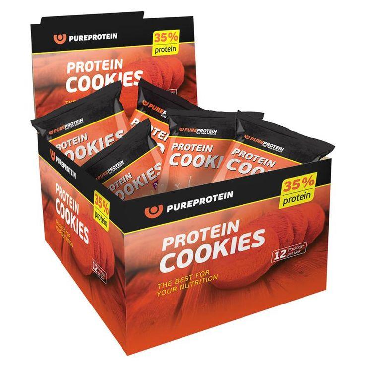 #Печенье #протеиновое #Pure #Protein, арахисовое масло (12 шт), 960 г Цена 750 руб Печенье Protein Cookies от компании Pure Protein — это абсолютно новая страница вашего представления о полезном питании! Это — высокобелковое печенье с высоким содержанием клетчатки. Купить http://shop.webdiz.com.ua/goods/pechene-proteinovoe-pure-protein-arahisovoe-maslo-12-sht-960-g/