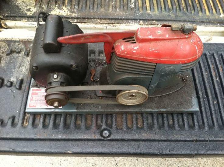 The same Deco-adent craftsman air compressor.