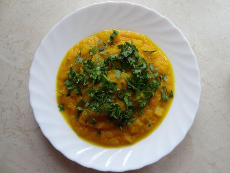 Zupa marchewkowa z ziemniakami