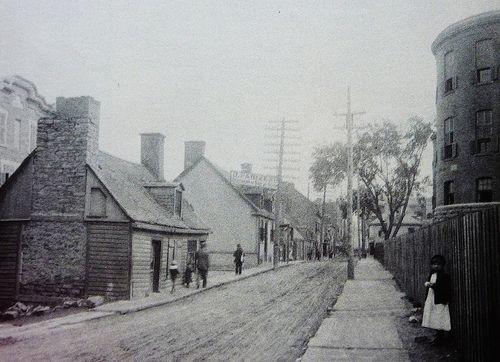 Montréal 1912-14. Rue de La Gauchetière >Ouest, depuis rue…   Flickr