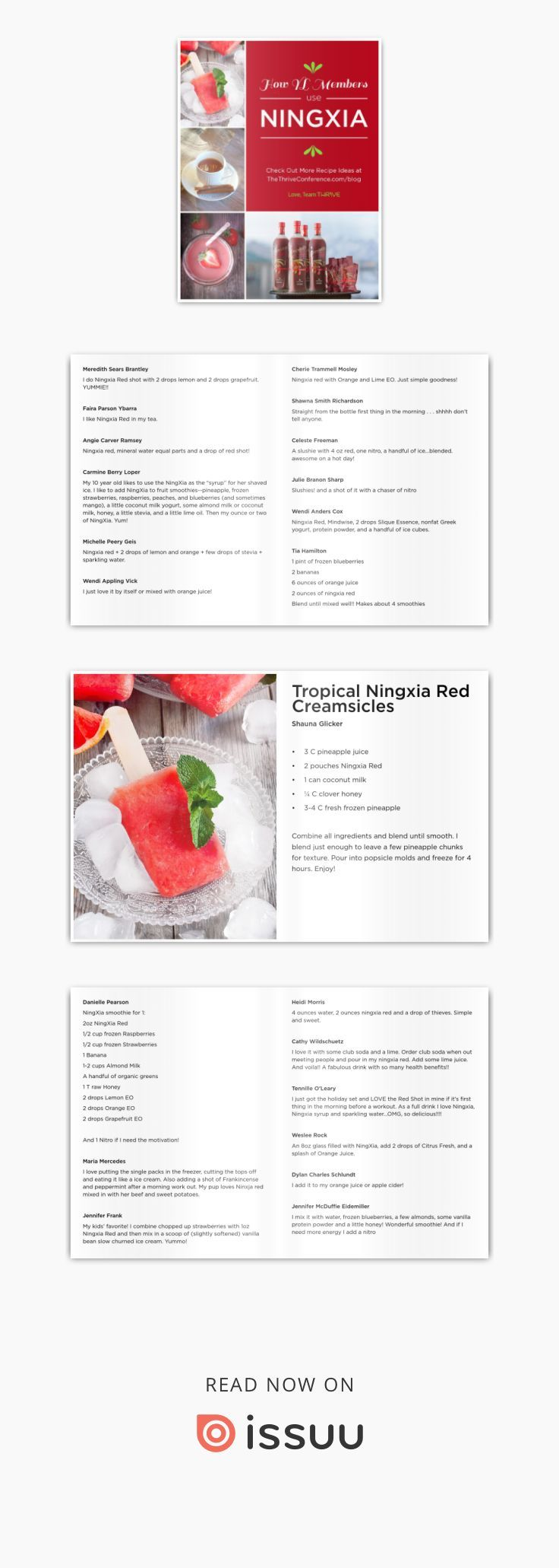 Issuu is a digital publishing platform that makes it simple to publish magazines, catalogs, newspapers, books, and more online. Easily share your publications and get them in front of Issuu's millions of monthly readers. Title: Ningxia book, Author: Thrive Conference, Name: Ningxia book, Length: 32 pages, Page: 1, Published: 2014-11-23