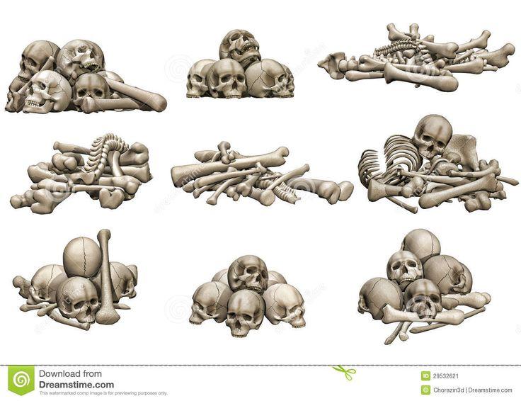 Bildergebnis für bone pile