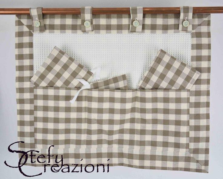 Copri Forno Scacchi, by Stefy Creazioni, 22,00 € su misshobby.com