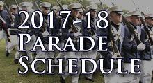 2013 Parade Schedule