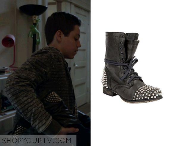 Shameless: Season 4 Episode 11 Bonnie's Studded Leather Boots