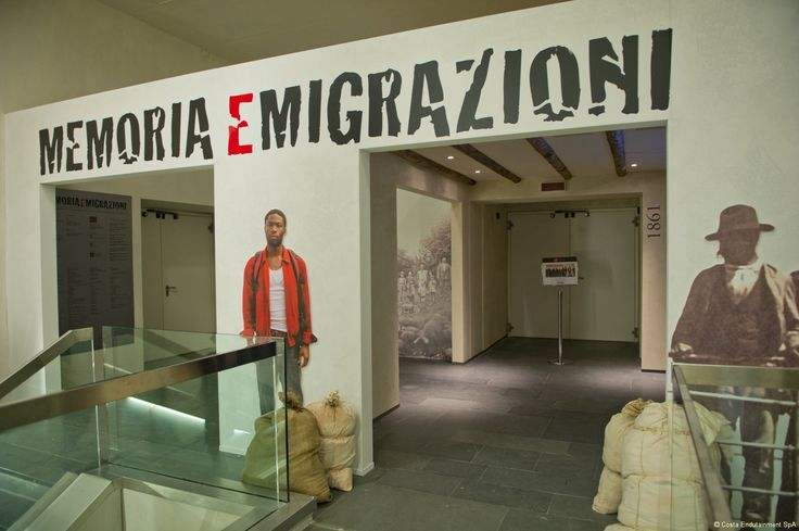 The third floor of the #GalataMuseodelMare shows the story of the Italian emigration by sea and the foreign immigration.   #MEM #MemoriaeMigrazioni #Museums #genova #genoa #genovamorethanthis #museo #muma