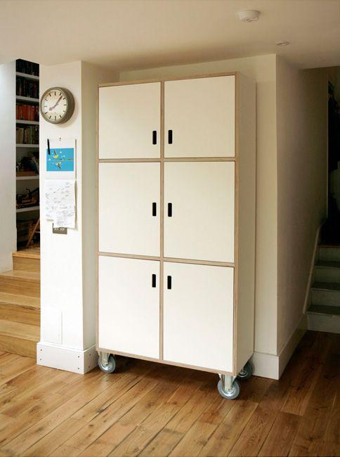 Birch Plywood & Formica Cabinet by Matt Antrobus