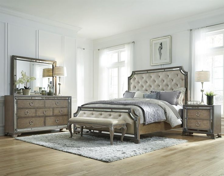 Find This Pin And More On Accentrics Home Bedroom Karissa King Bedroom Group By Pulaski Furniture