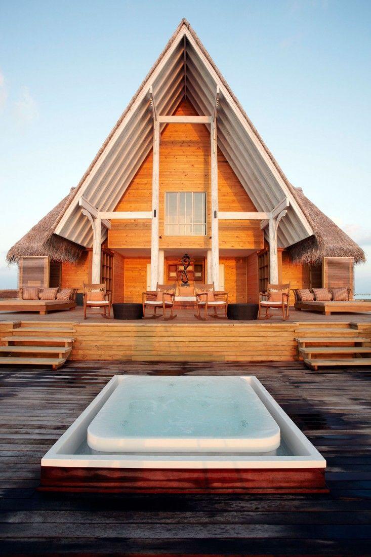 Staying at Anantara Kihavah Villas Maldives: View Of Veranda In Anantara Kihavah Villas