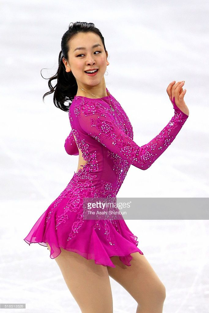Mao Asada of Japan competes in the Ladies Singles Short Program during Day 4 of the ISU World Figure Skating Championships 2016 at TD Garden on March 31, 2016 in Boston, Massachusetts.