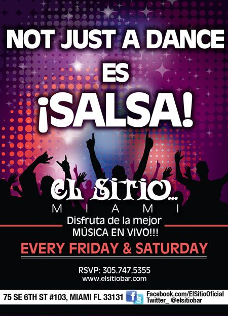 Not just a dance es salsa