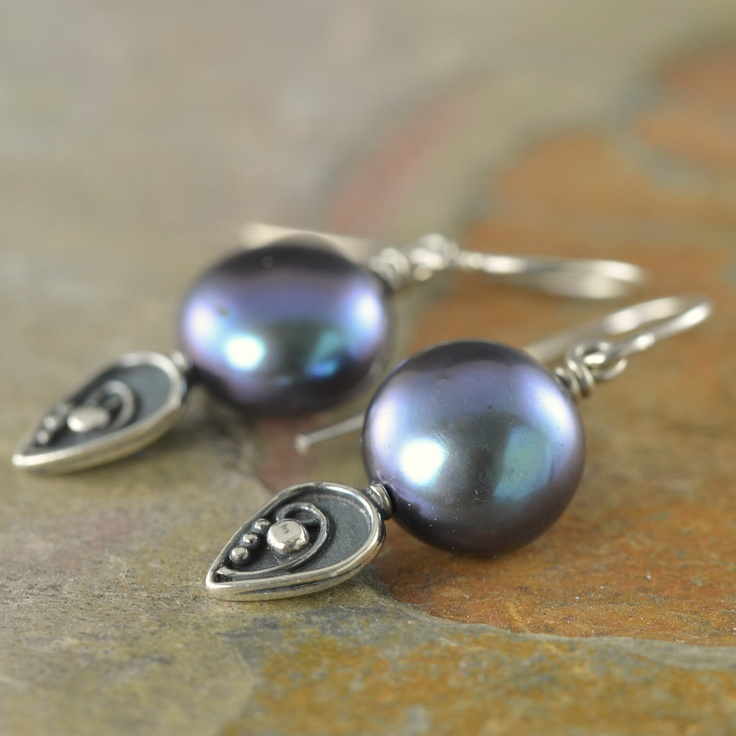 The freshwater pearl jewelry collection by South Paw Studios Jewelry