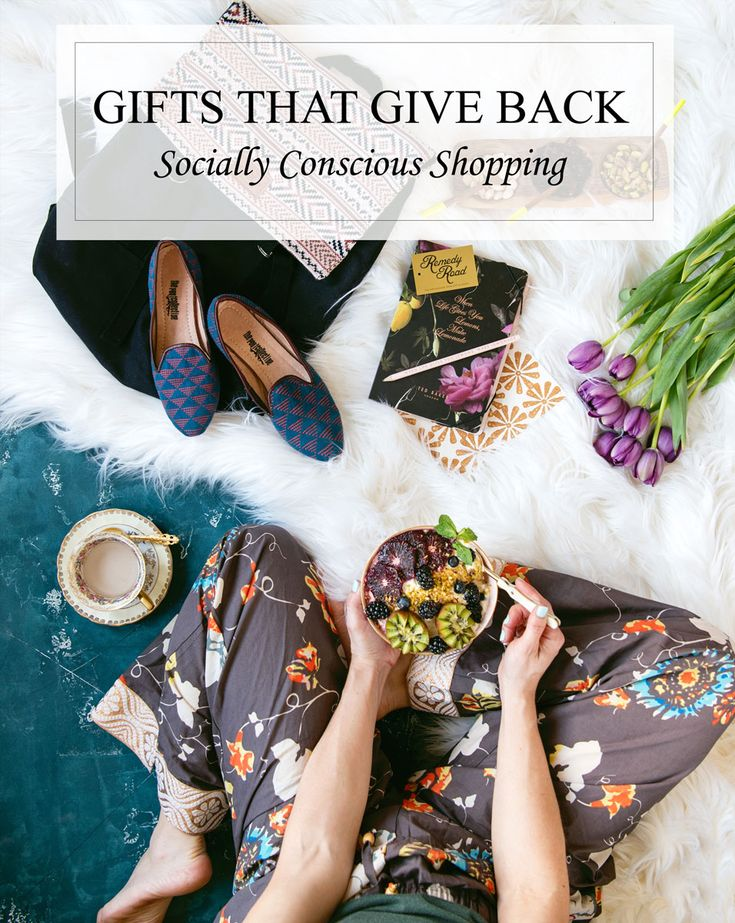 Guide for Gifts that Give Back to Charity - gift ideas for men, gift ideas for girlfriends, gift ideas for moms, gift ideas for husbands via @sideofsweet