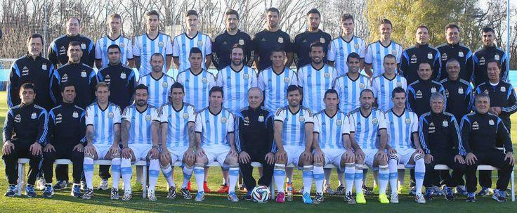 Argentina Selección Nacional de fútbol. 2014