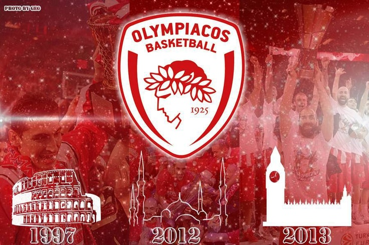 Olympiakos Piraeus the Emperor of European Basketball!participation in 8 Final Fours, 6 Finals and 3 European Championships so far and the journey continues..