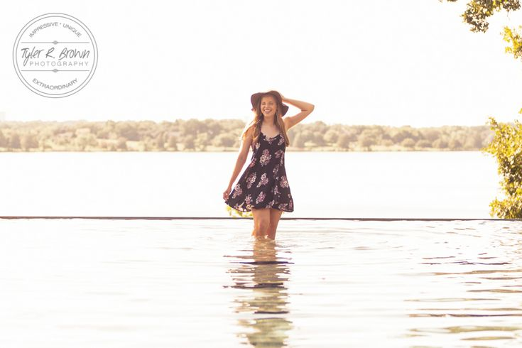 Dallas - Sunset - Floral Dress- water - Summer - Outside - Senior Session - Photography - Graduation - Class of 2017 - Dallas, Texas - Tyler R Brown Photography