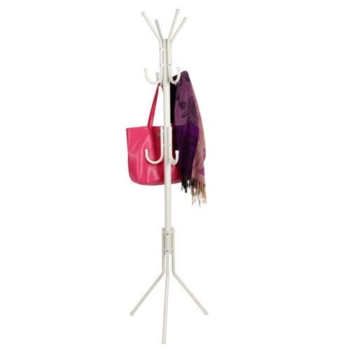 Clothes Rack Coat Stand - White