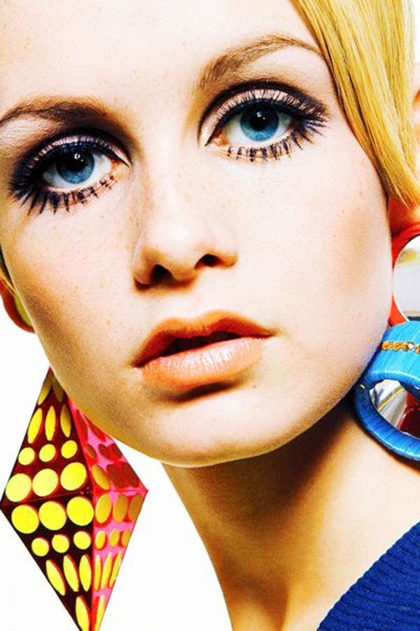 60s Makeup With Images Twiggy Makeup Fashion Makeup Vintage