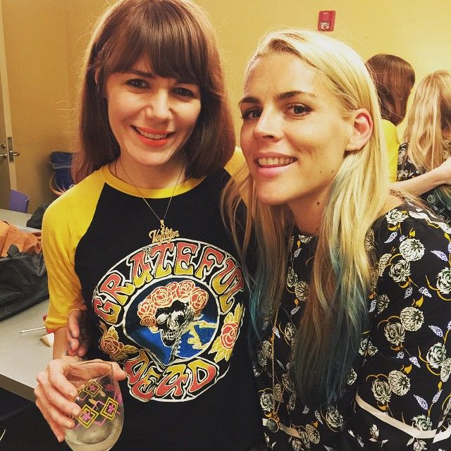 """Jenny Lewis and Busy Philipps """