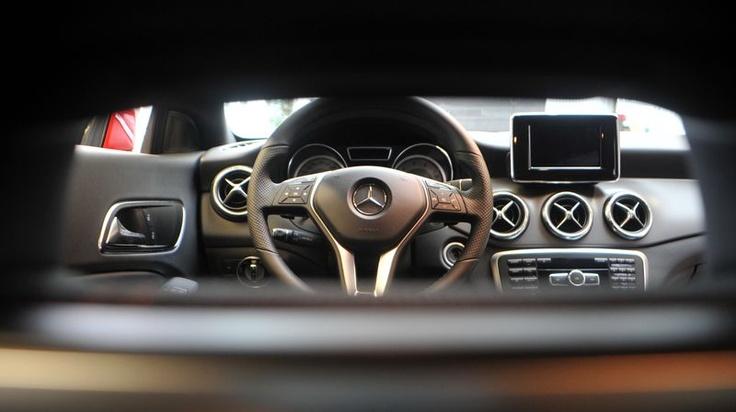 New Mercedes CLA - amazing design!    Photo: Marek Lasyk