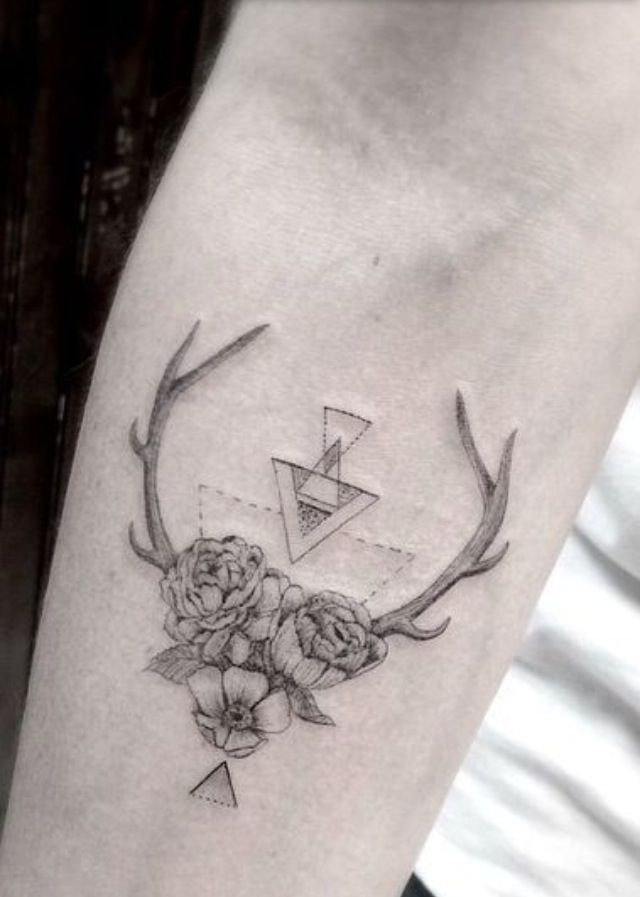 Tattoo geometric Follow me: @Sandrushka21