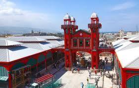 Marche de Fer architectural buildings in Haiti