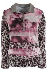 #Rabe - shirt met gemixt dessin #panterprint #luipaardprint #leopardprint #fall16 #winter17 #fashion #trends