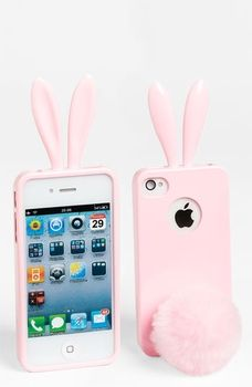 Rabito iPhone 4 & 4S Case Baby Pink One Size in November 2012 Parties and Presents from Nordstrom