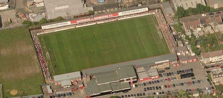 Victoria Road - Aerial - Dagenham and Redbridge FC