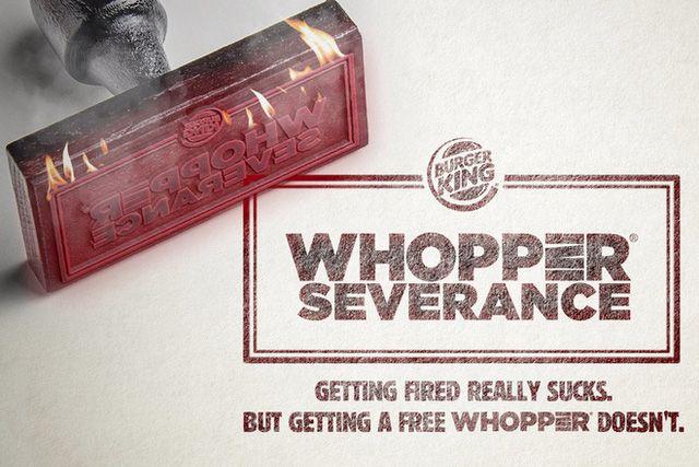 Burger King tặng miễn phí bánh burger bò Whopper cho những nhân - burger king resume