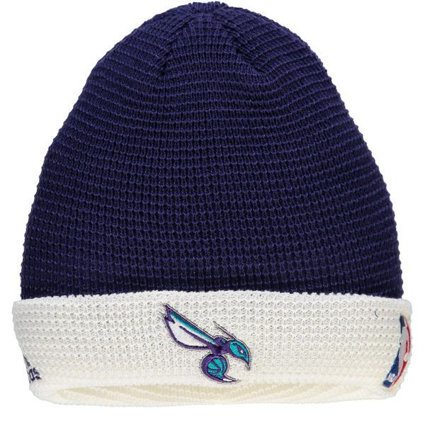 Men's Charlotte Hornets adidas Purple Authentic Team Cuffed Knit Hat, Your  Price: $23.99