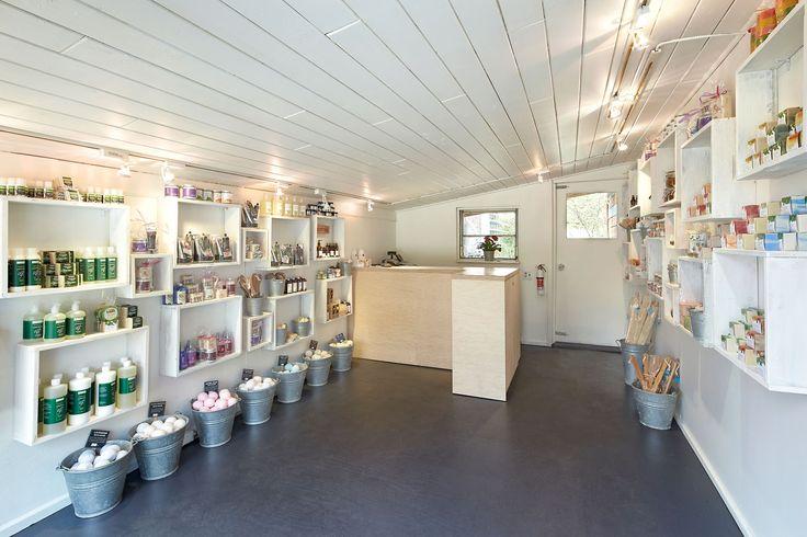 Saltspring Soapworks fresh new soap boutique on Salt Spring Island B.C.
