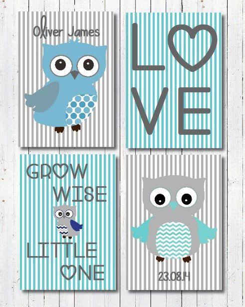 Best 25 unique baby boy gifts ideas on pinterest baby boy girl owl nursery art print pink and grey owl art pink and grey owl christening gift girls nursery owl decor print negle Images