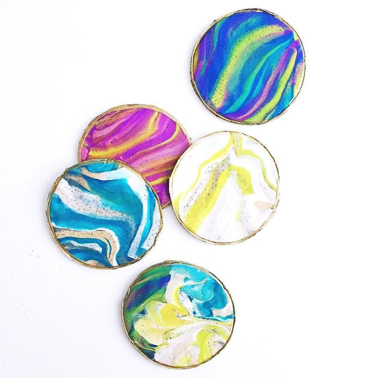 Made Some Cute Diyproject Coasters Using The Kids