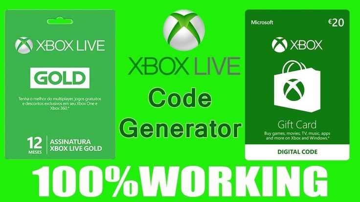 free xbox live gold codes 2021