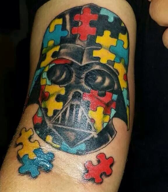 145 best images about autism awareness tattoos on for Autism tattoos for dads