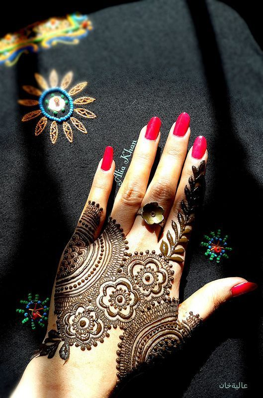 Eid ul Azha Special Mehndi Designs 2016-2017 Collection (19)