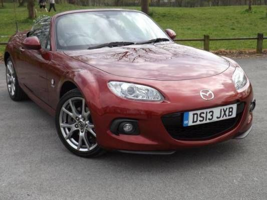 Used (13 Reg) Copper Red Mazda Mx 5 2.0i Venture Edition 2dr