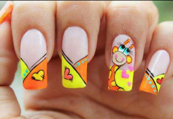 Summer nail art  http://miascollection.com