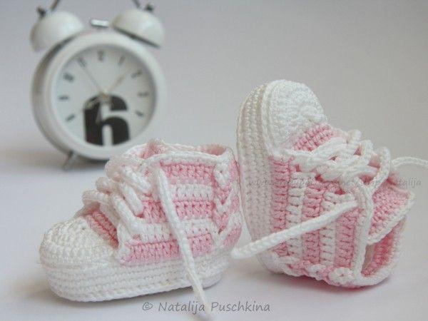 16 best Babyschuhe haekeln images on Pinterest   Baby-hausschuhe ...