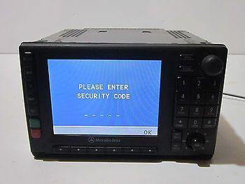 00 01 02 03 04 05 MERCEDES ML320 350 430 ML55 NAVIGATION RADIO DISPLAY W/CODECC