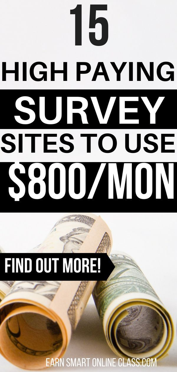 15 Top Survey Sites to Earn You $800/ Month – Money