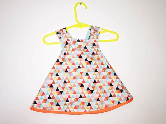 Pinafore Dress  Size 3-6 months by SewNSewsDesigns on Etsy