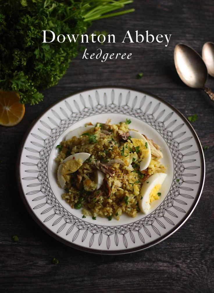 Recipe on how to make Kedgeree from Mrs. Patmore in Downton Abbey