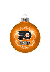 Philadelphia Flyers Traditional Glass Ball Ornament