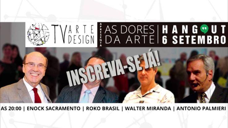 Roko - PRIMEIRA MESA REDONDA INTERATIVA - TV ARTEDESIGN HANGOUT DORES DA...