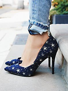 Billy Ella star pumps #anthrofave